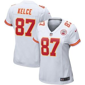 Women's Kansas City Chiefs Travis Kelce Jersey